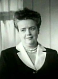 Frances Bavier in The Lady