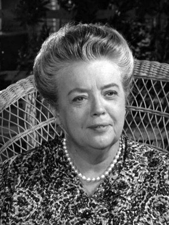 Frances Bavier as Aunt Bee